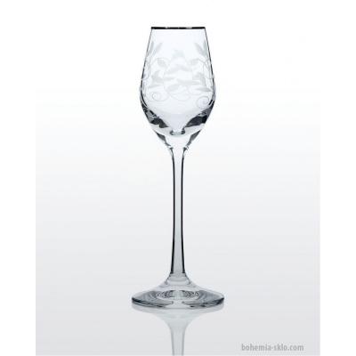 Viola набор рюмок для водки и ликера (Lido платина) 6 шт. (06-01-60-6-020)