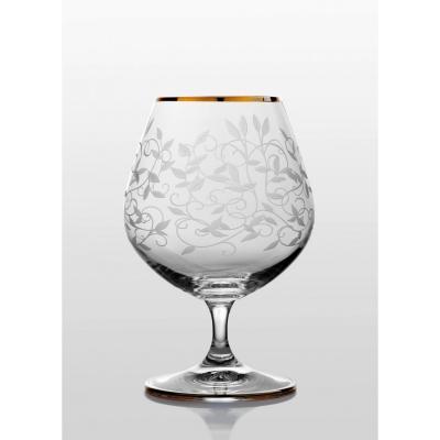 Viola набор бокалов для коньяка (Lido золото) 6 шт. (06-06-400-6-019)