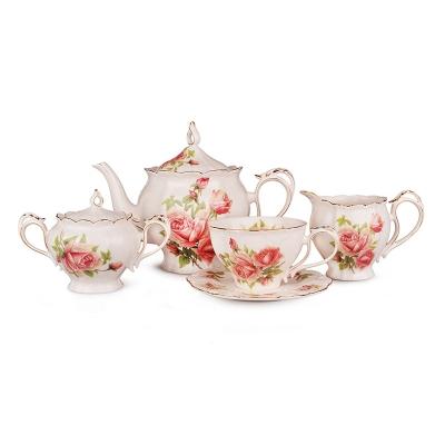 Чайный набор розы, 15 пр. (127-524)