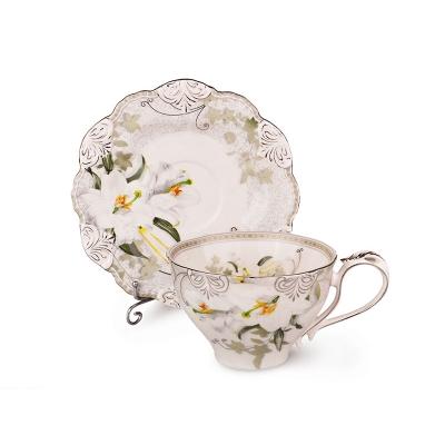 Чайный набор лилия, 12 пр. (127-540)