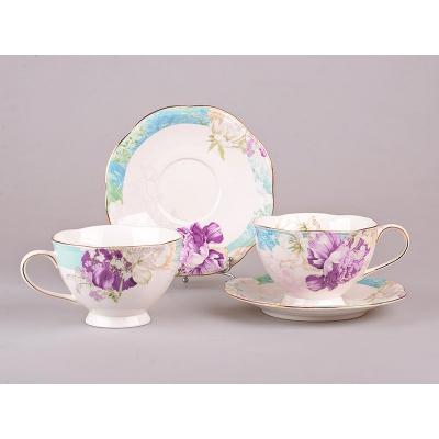 Чайный набор Цветы, 4 пр. (127-592)