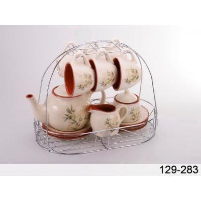 Чайный набор на подставке Olive (129-283)