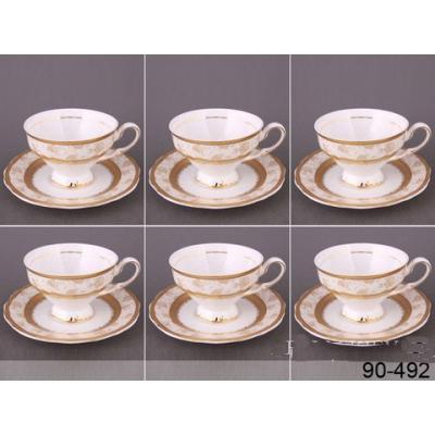 Чайный сервиз Золотые розы (90-492)