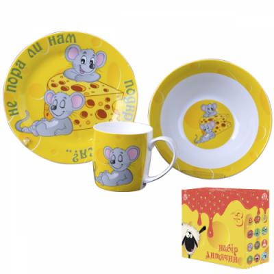 Детский набор посуды Мышата (5132-07)