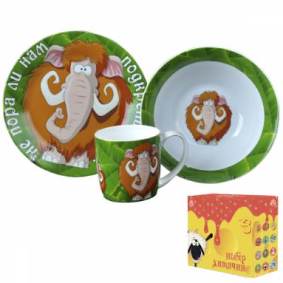 Детский набор посуды Мамонт (5132-06)