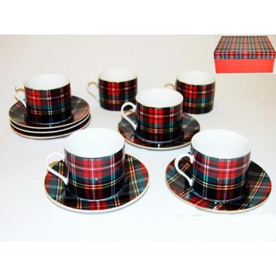Чайный сервиз Шотландка (86-1408)