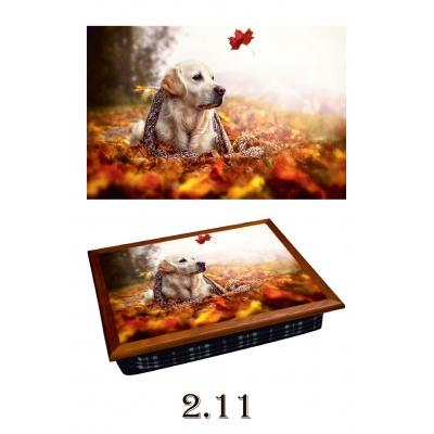 Поднос на подушке Осень (2.11)