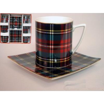 Чайный сервиз Шотландка (86-1414)
