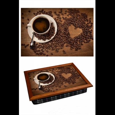 Поднос на подушке Кофе с любовью (2.18)