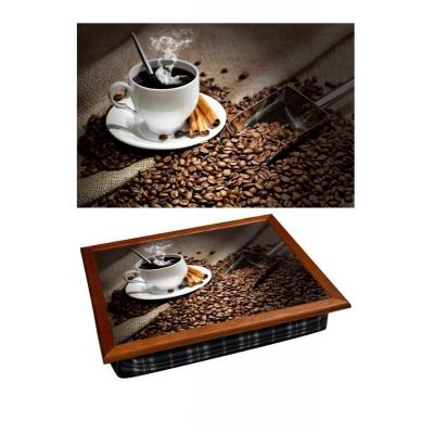 Поднос на подушке Кофе с корицей