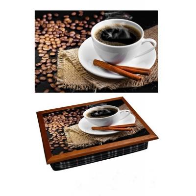 Поднос на подушке Горячий кофе (2.28)