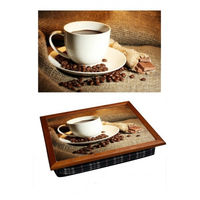 Поднос на подушке Чашка кофе (2.52)