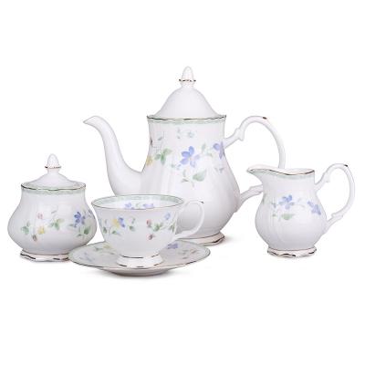 Чайный набор фиалки, 15 пр. (264-303)