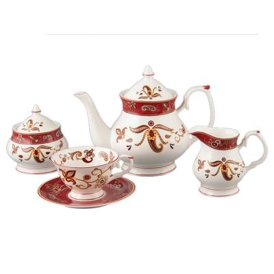 Набор чайный красная рута, 15 пр. (264-366)