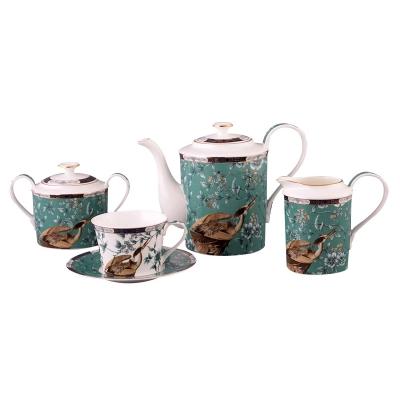 Чайный набор журавли, 15 пр. (264-388)