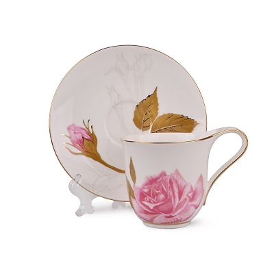 Чайный набор чайная роза, 12 пр. (264-425)