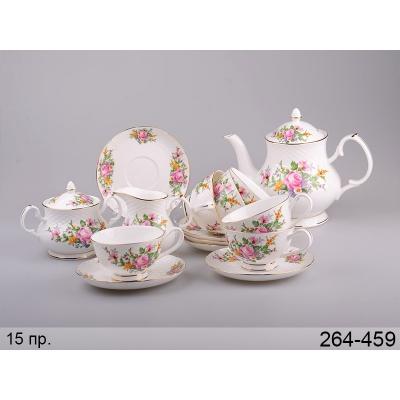Чайный набор букет, 15 пр. (264-459)