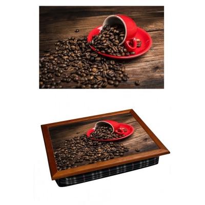 Поднос на подушке Кофе Red (2.67)
