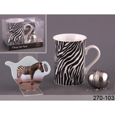 Чайный набор зебра, 3 пр. (270-103)