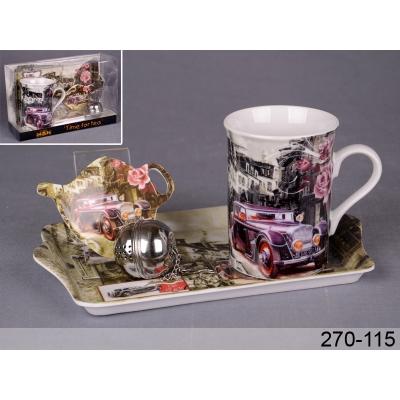 Чайный набор автомобиль, 4 пр. (270-115)