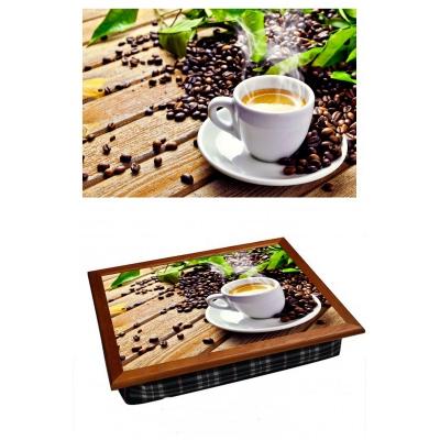 Поднос на подушке Кофейное утро (2.70)