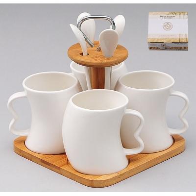 Чайный набор на подставке Naturel (289-124)