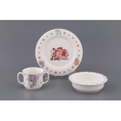 Детский набор посуды Слонёнок, 3 пр. (359-303)