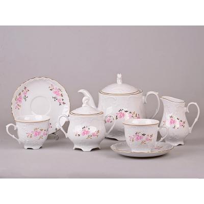 Сервиз чайный рококо, 27 пр. (44-013)