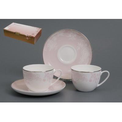 Чайный сервиз Розовый шелк (440-016)