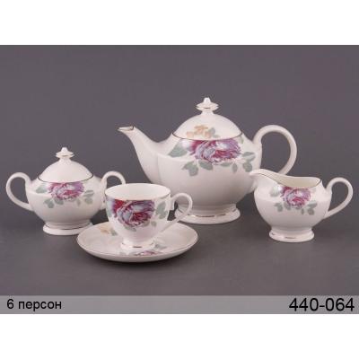 Чайный сервиз розалия, 15 пр. (440-064)