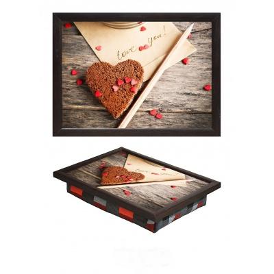 Поднос на подушке мини Love you (5.5)