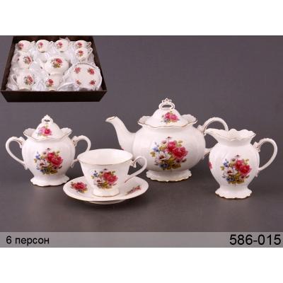 Чайный набор весенний, 15 пр. (586-015)