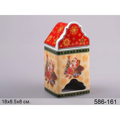 Банка для чая Санта Клаус (586-161)