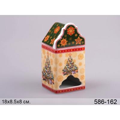 Банка для чая в пакетиках Ёлка (586-162)