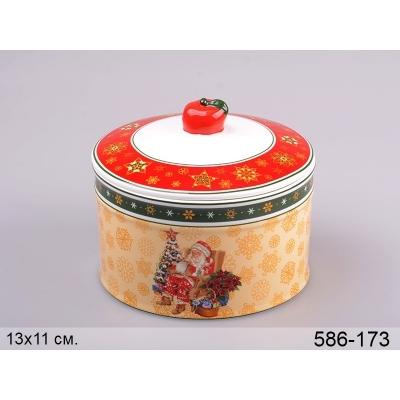 Емкость для сыпучих продуктов Санта Клаус. (586-173)