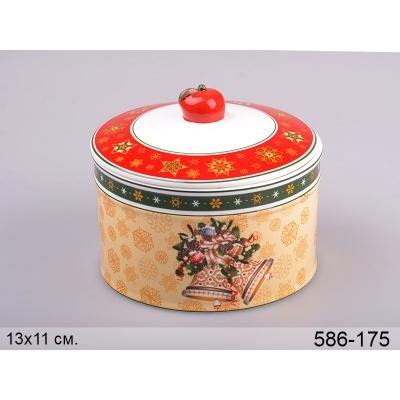 Емкость с крышкой для сыпучих продуктов Колокольчики. (586-175)