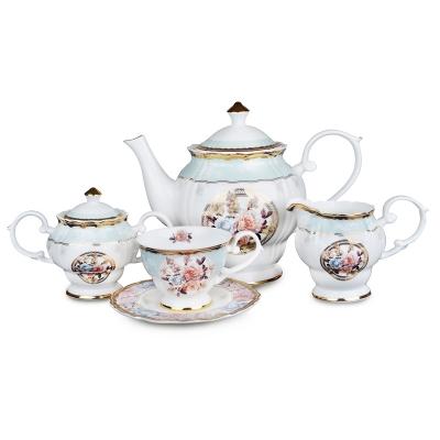 Чайный сервиз, 15 пр. (586-322)