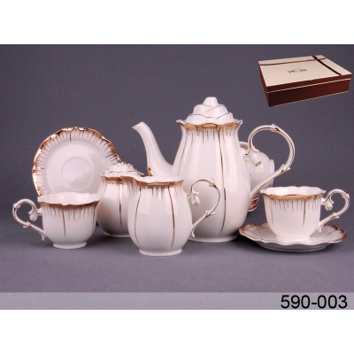 Чайный набор Роза, 15 пр. (590-003)