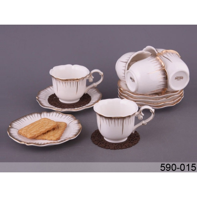 Кофейный набор Роза, 12 пр. (590-016)
