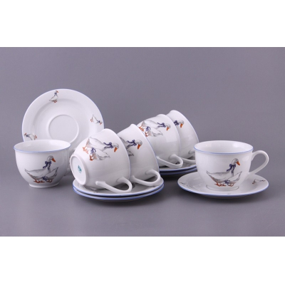 Чайный набор Гуси, 500 мл (655-036)
