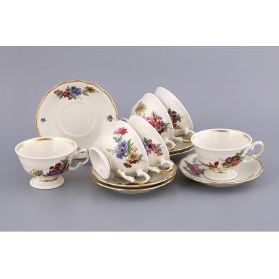 Чайный набор айсис на 6 персон, 12 пр. (662-583)
