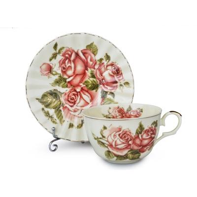 Чайный набор корейская роза, 12 пр. (69-1766)