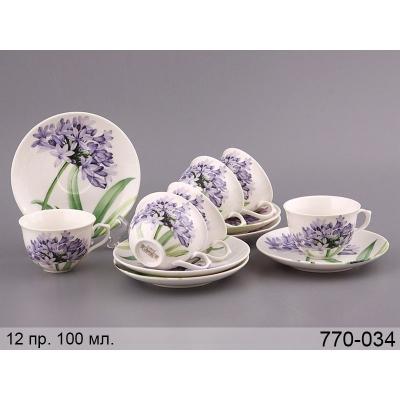 Кофейный набор Колокольчики, 12 пр. (770-034)