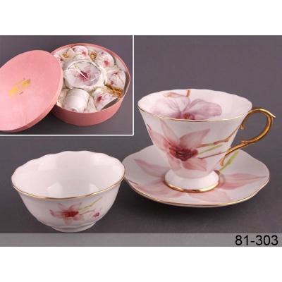Чайний набор орхидея, 18 пр. (81-303)