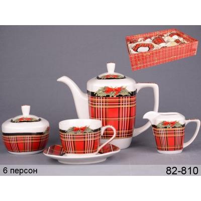 Чайный сервиз Рождественский (82-810)