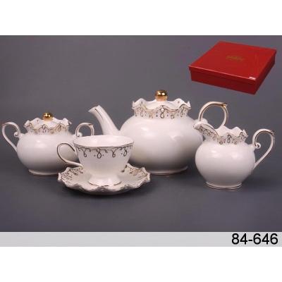 Набор чайный лидия, 15 пр. (84-646)