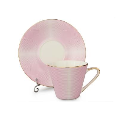 Чайный набор модерн розовый, 12 пр.
