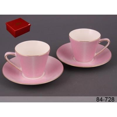 Набор чайный модерн розовый, 4 пр. (84-728)