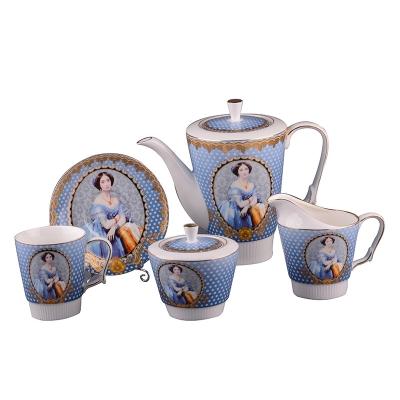 Набор чайный элизабет, 15 пр. (85-1140)