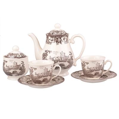 Чайный набор пимберли браун на 6 персон (910-059)